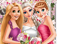 لعبة زفاف اميرات 2018