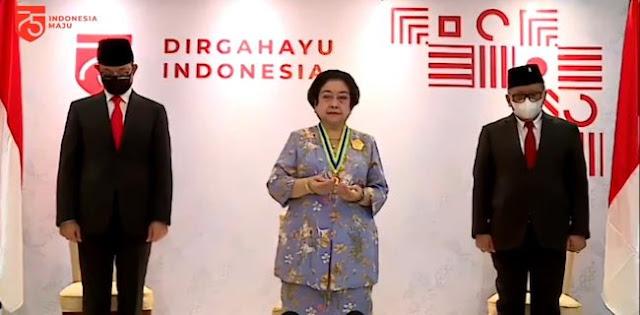 Megawati Ikut Dapat Penghargaan dari Jokowi, Alasan: Memajukan Perekonomian, Agama, Hukum dll