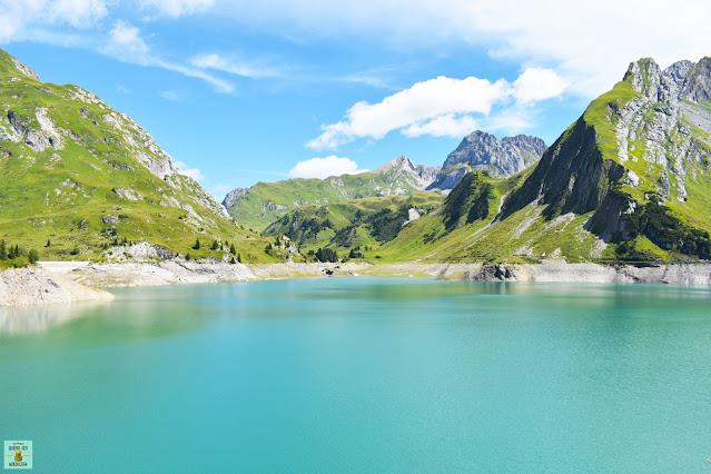Lago Spullersee en Austria