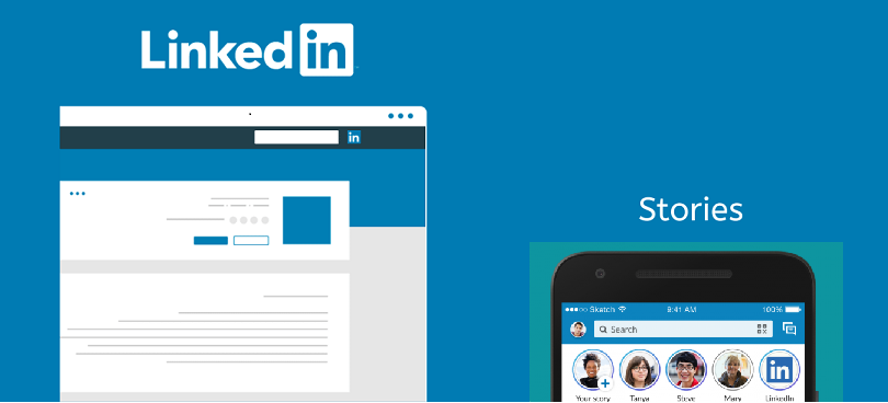 LinkedIn Adapted Stories Feature to Compete with the Giants