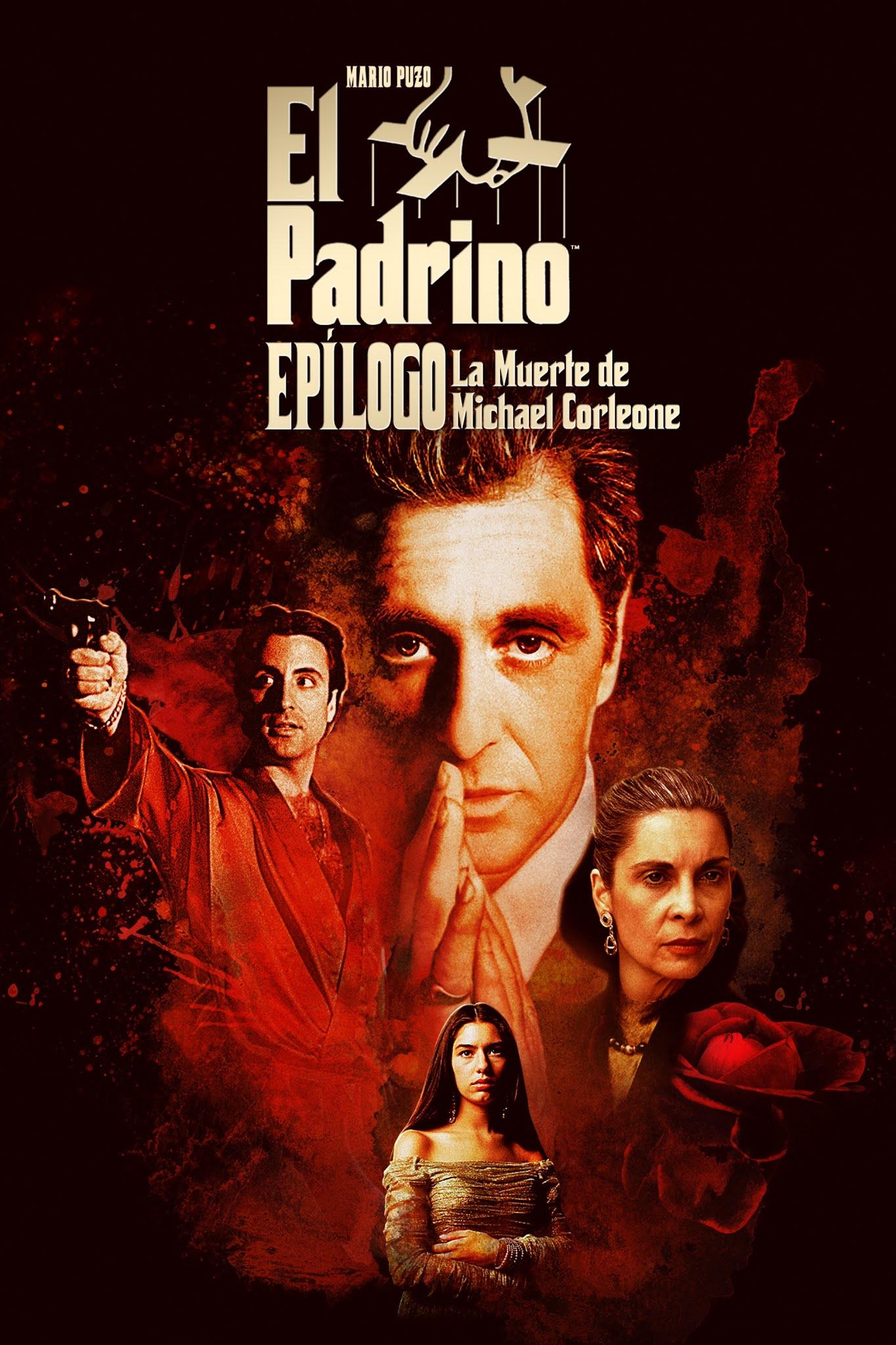 El Padrino Parte III, Epílogo: La muerte de Michael Corleone (1990) Full HD 1080p Latino
