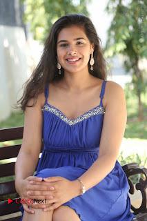Actress Prasanna Stills in Blue Short Dress at Inkenti Nuvve Cheppu Movie Platinum Disc Function  0154.JPG