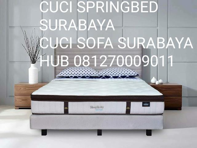 cuci sofa,springbed surabaya 081270009011