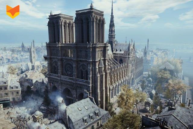 Notre-Dame: Ubisoft fará doação para restauração da estrutura