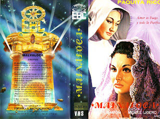 Malvaloca (1954) » Carátula » VHS