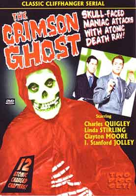 The Crimson Ghost, edición en DVD de este serial de Republic Pictures