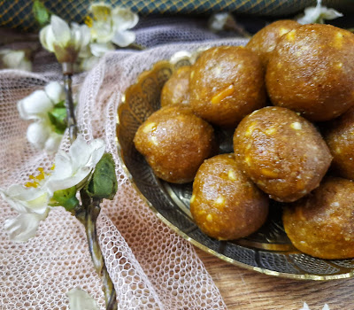 Healthy Peanut Butter laddoos