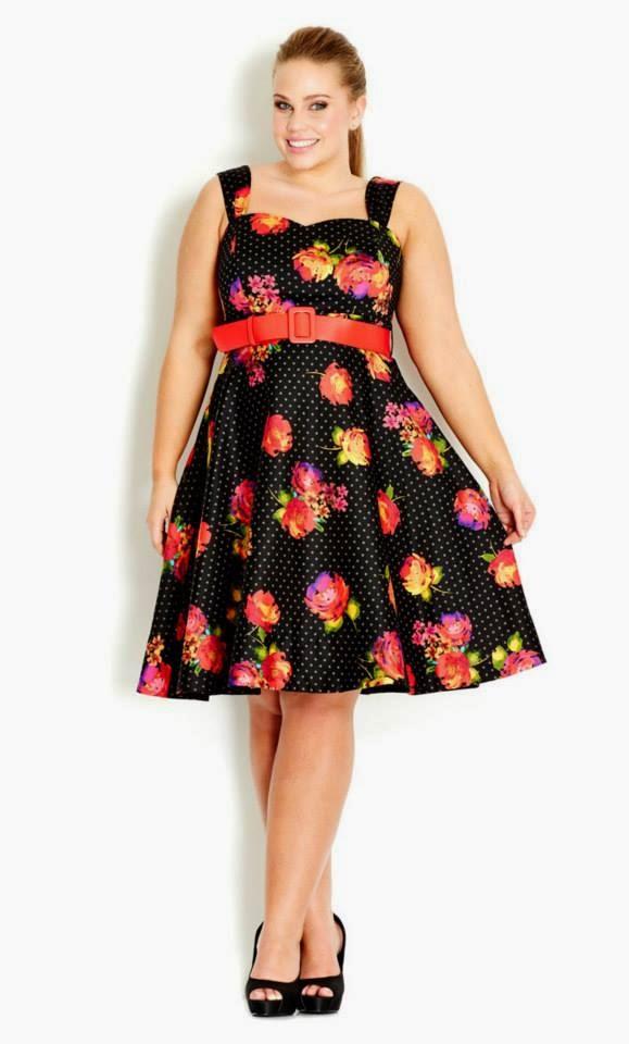 Andrea The Seeker March 2014 Curvy Girl Fashion