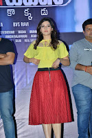 Mehreen Kaur Stills At Jaawan Movie Promotions At Chaitanya Mahila College 07.jpg