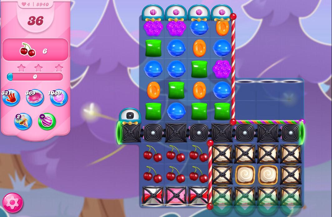 Candy Crush Saga level 8940