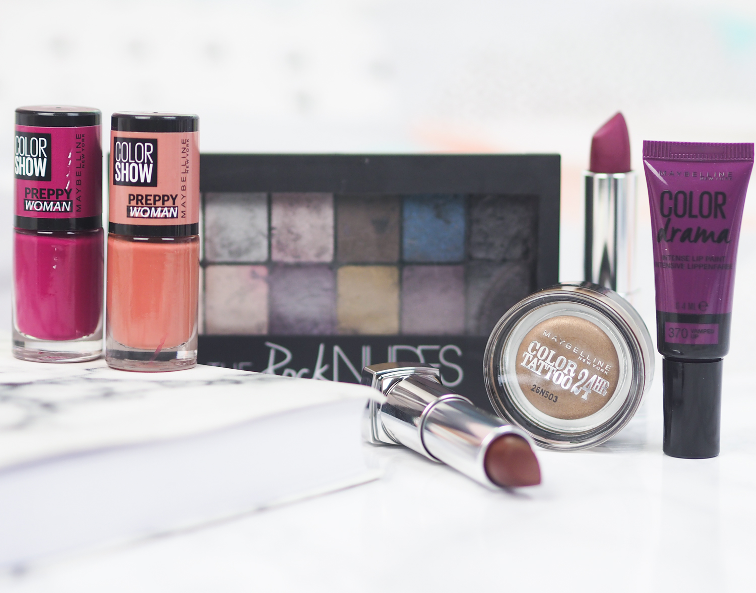 Maybelline Autumn 2016 New Releases