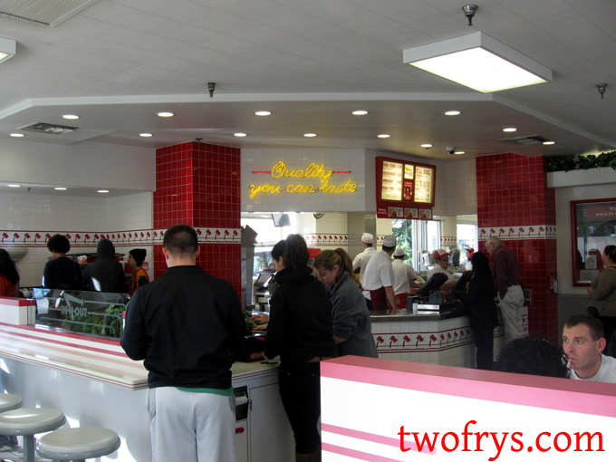 Two Frys: IN-N-OUT BURGER - Livermore, CA