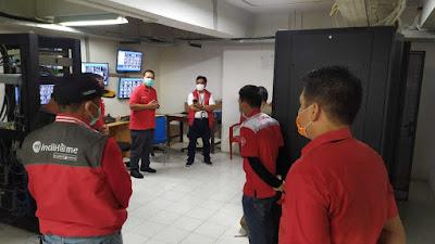 Akses Internet di Rumah Sakit Darurat Corona dari TelkomGroup