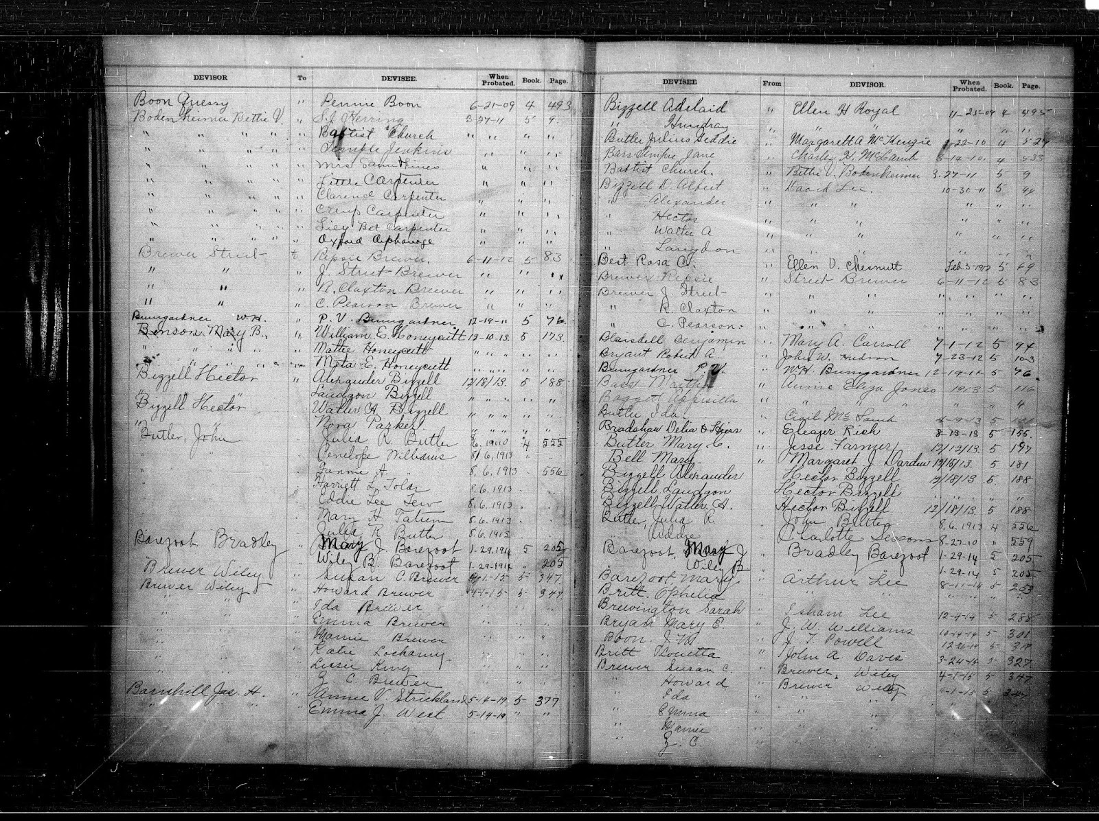 Sampson Co., NC Wills Index 1620-1925 (FamilySearch.org)