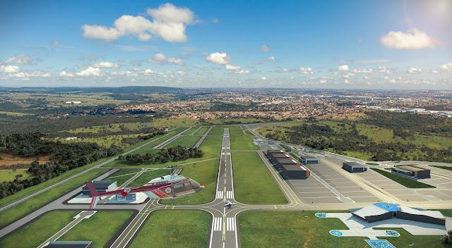 Goiás vai ganhar novo aeroporto privado e um novo polo aeronáutico | É MAIS QUE VOAR