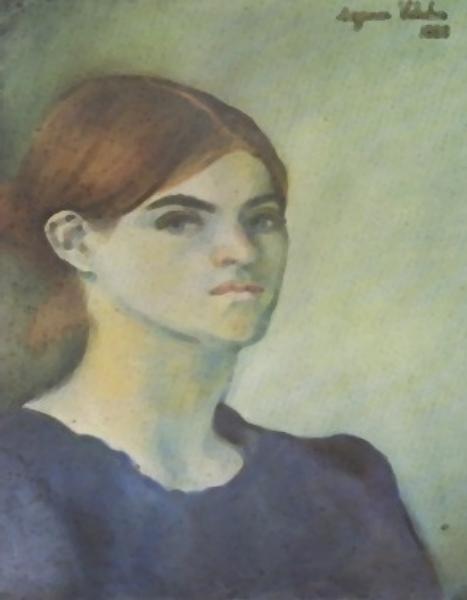 Suzanne Valadon Автопортрет