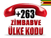 +263 Zimbabve ülke telefon kodu