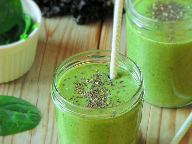 recette de smoothie vegan au kale