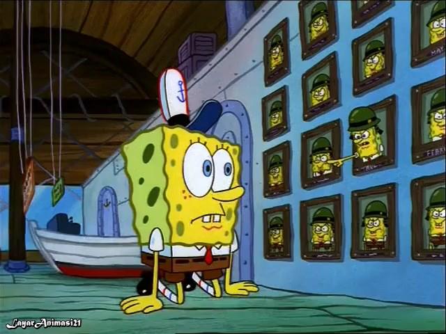 SpongeBob Season 1 Episode 12B - Employee Of The Month SD 480p Dub Indo