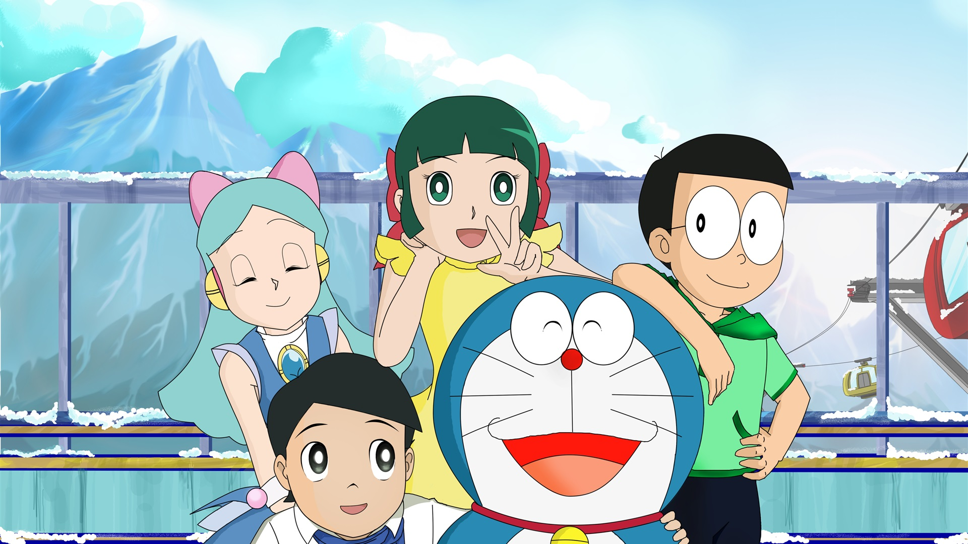 Doraemon Hd Wallpapers Backgrounds Read Games Review Play