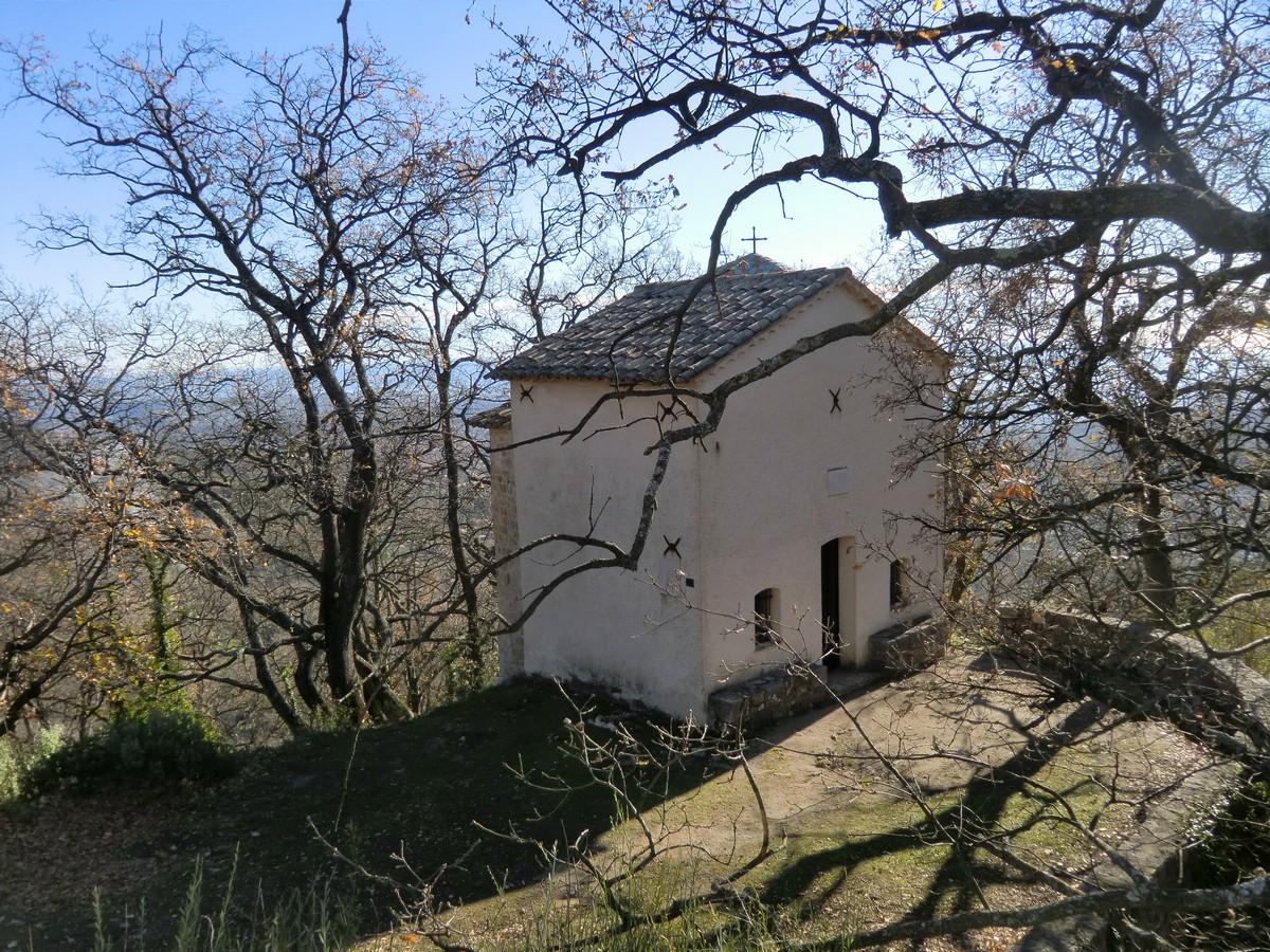 Chapel St Raphael above Vence