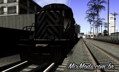 mod gta mais trens
