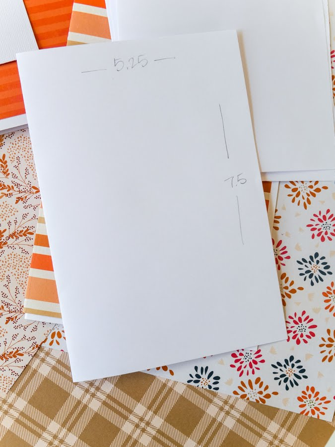 DIY: Fall Journals For Friends by Jamie Pate