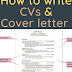 How to write CVs and cover letter ?  pdf