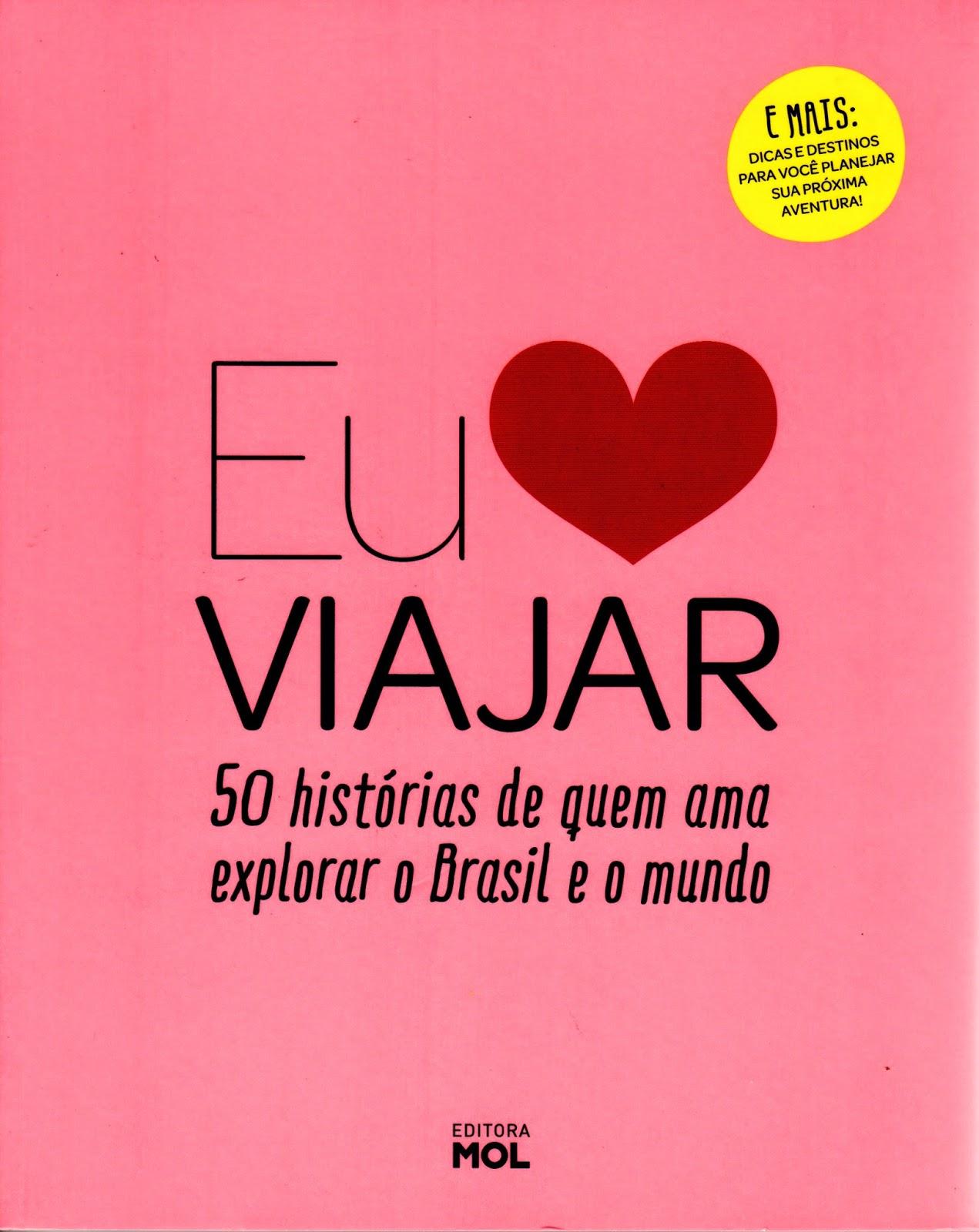"""livro """"Eu amo viajar"""""""