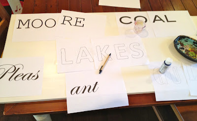 how to make a handpainted sign