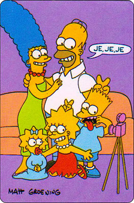 Bollycao The Simpsons Cromo 29