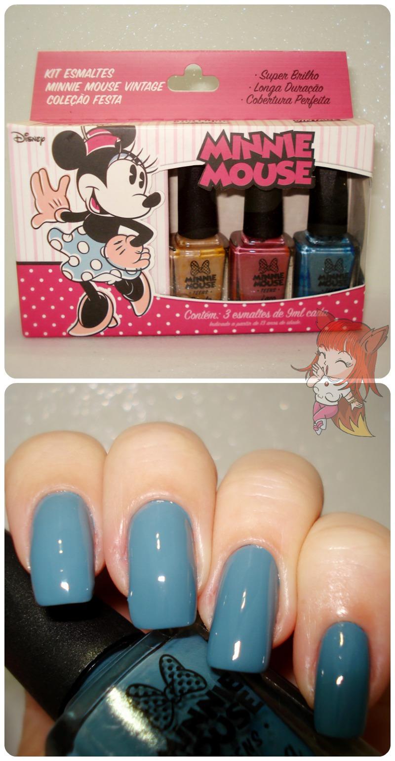 Esmalte Minnie Mouse - Pluma - Resenha