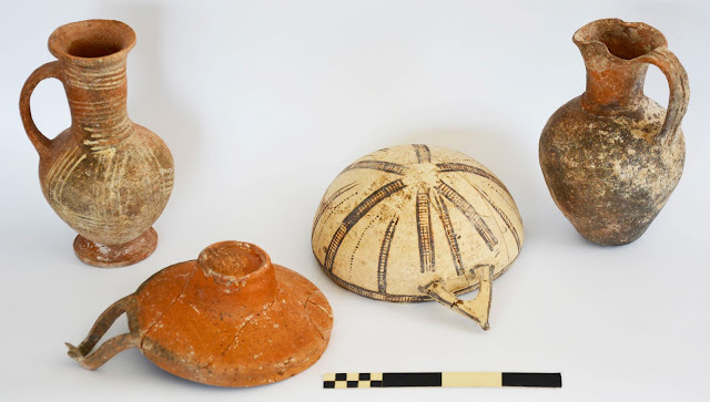 Mycenaean vessels among finds at Dromolaxia, Cyprus