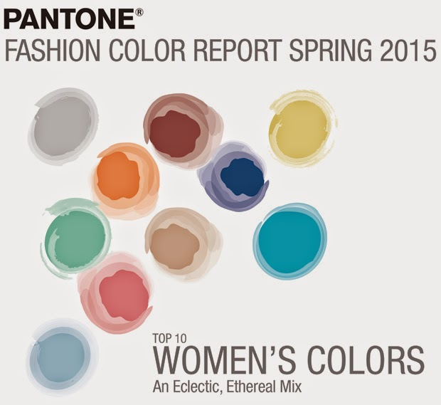 Tendencias colores primavera/verano 2015 · Color trends spring/summer 2015