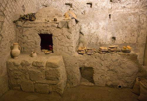 Naples Church provides entry to ancient underground site