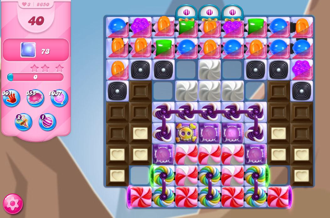 Candy Crush Saga level 8650