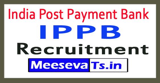 India Post Payment Bank IPPB Recruitment 2018