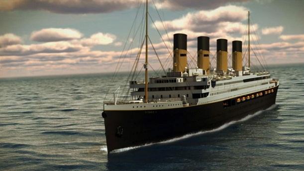 Una réplica exacta del Titanic zarpará en 2018