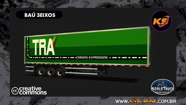 BAÚ 3EIXOS - TRA TRANSPORTES