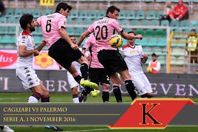 Prediksi Skor Cagliari vs Palermo 1 November 2016