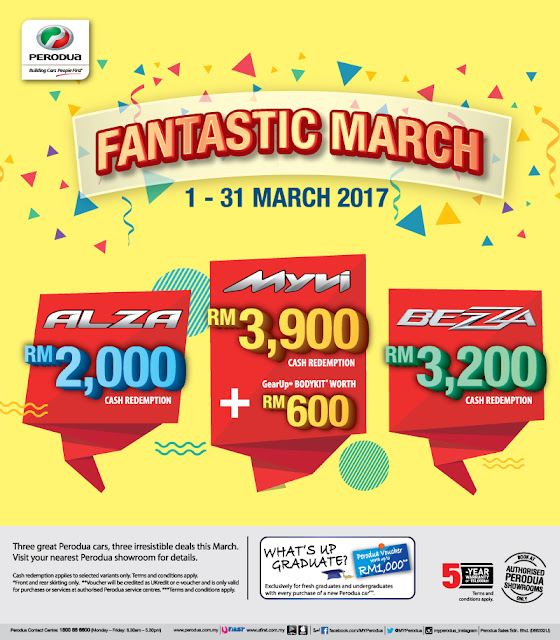 Promosi Perodua March 2017 - Promosi Perodua Fantastic March 2017