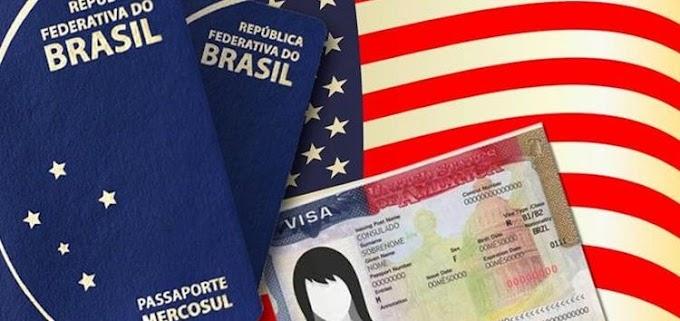 EUA aumentam a rejeição de vistos para brasileiros; veja a comparação