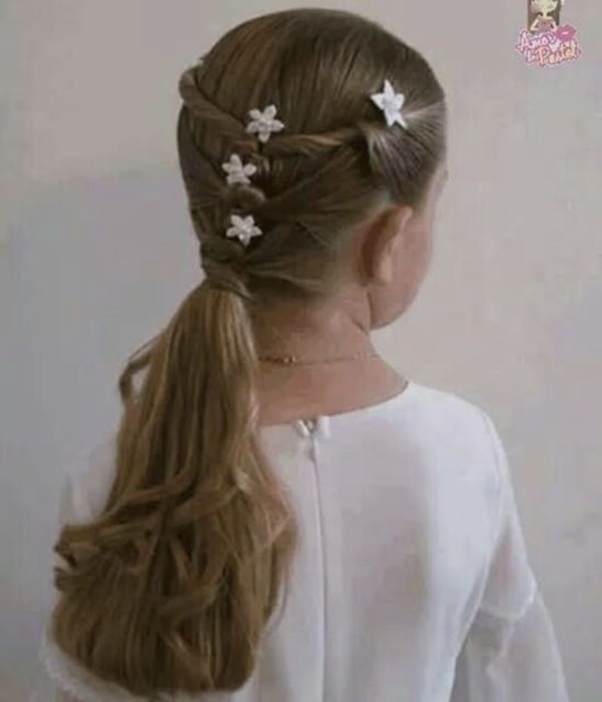 little girl ponytail hairstyles