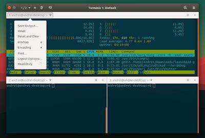 Terminix terminal emulator