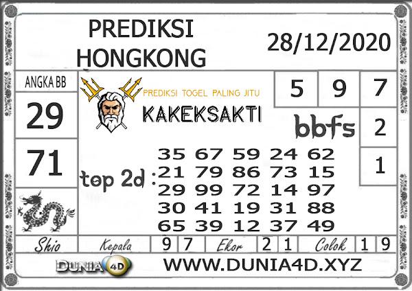 Prediksi Togel HONGKONG DUNIA4D 28 DESEMBER 2020