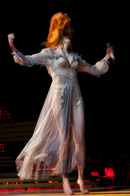 Florence & The Machine - 3Arena by Peter O' Hanlon for Hotpress