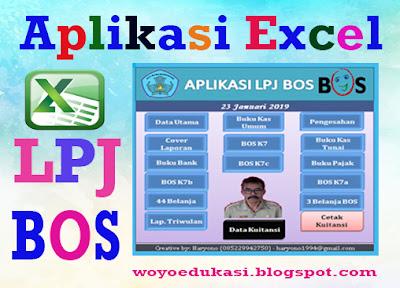 APLIKASI PRAKTIS MEMBUAT LPJ BOS - EXCEL - Edukasi Suwoyo.com