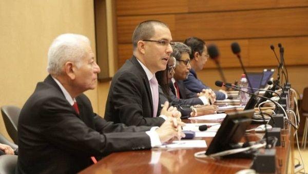 Arreaza ante la ONU: No debería haber Estado que no condene el bloqueo contra Venezuela