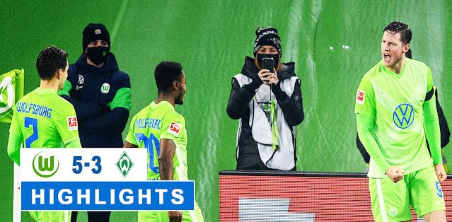 Wolfsburg vs Werder Bremen – Highlights