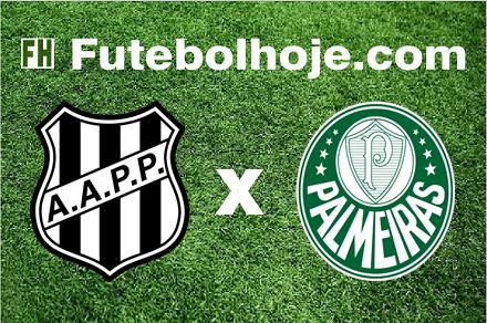 Assistir Ponte Preta x Palmeiras ao vivo grátis em HD 16/04/2017